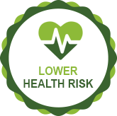 Lower Health Risk